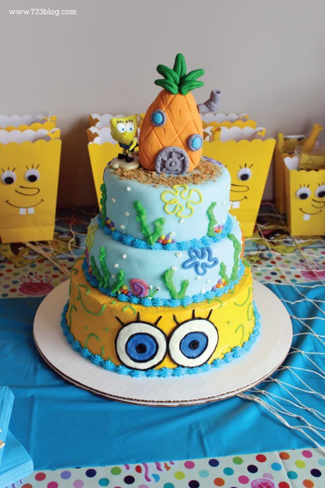 If you have a little one that is requesting a Spongebob Squarepants Birthday Party, I have tons of fun DIY ideas to help you in your planning!