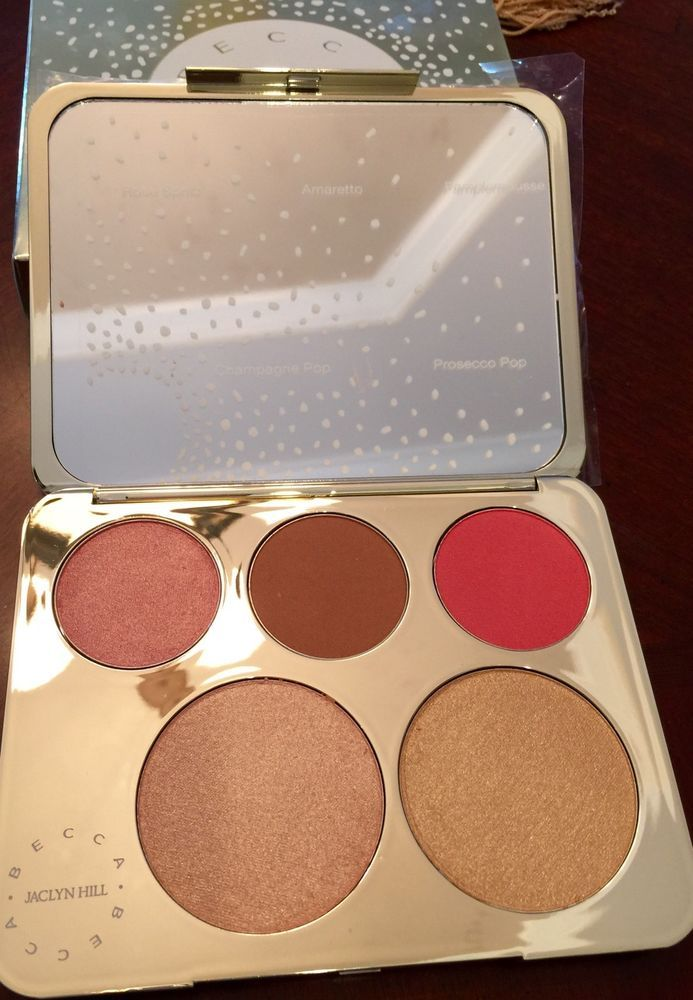 NWT Becca Jacklyn Hill Champagne Collection Face Palette. Champagne pop. Charges will be upfront in the pricing. 100% Authentic. | eBay!