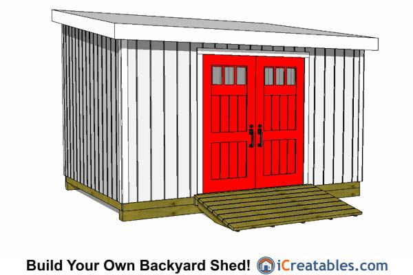 10x14 Lean To Shed Plans 10x14 Shed Plans Pinterest