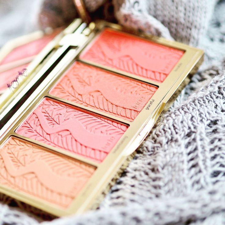 Perfect blush palette by Tarte #makeup
