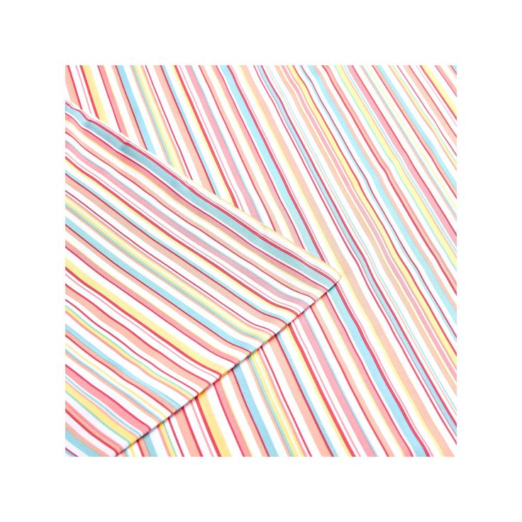 Intelligent Design Multi Stripe Sheet Set, Pink Cal King