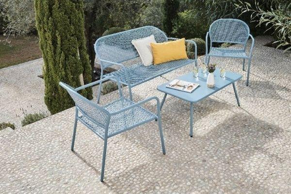 Inspirations Balcon, Terrasse & Jardin : Salon de jardin en métal ...