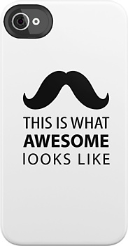 Awesome Mustache iPhone case i am waiting new from Apple... Visit  http://www.facebook.com/FratimanKingaDesign