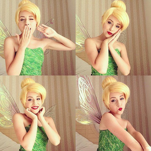 Let this Tinker Bell cosplay look inspire your next Halloween costume!