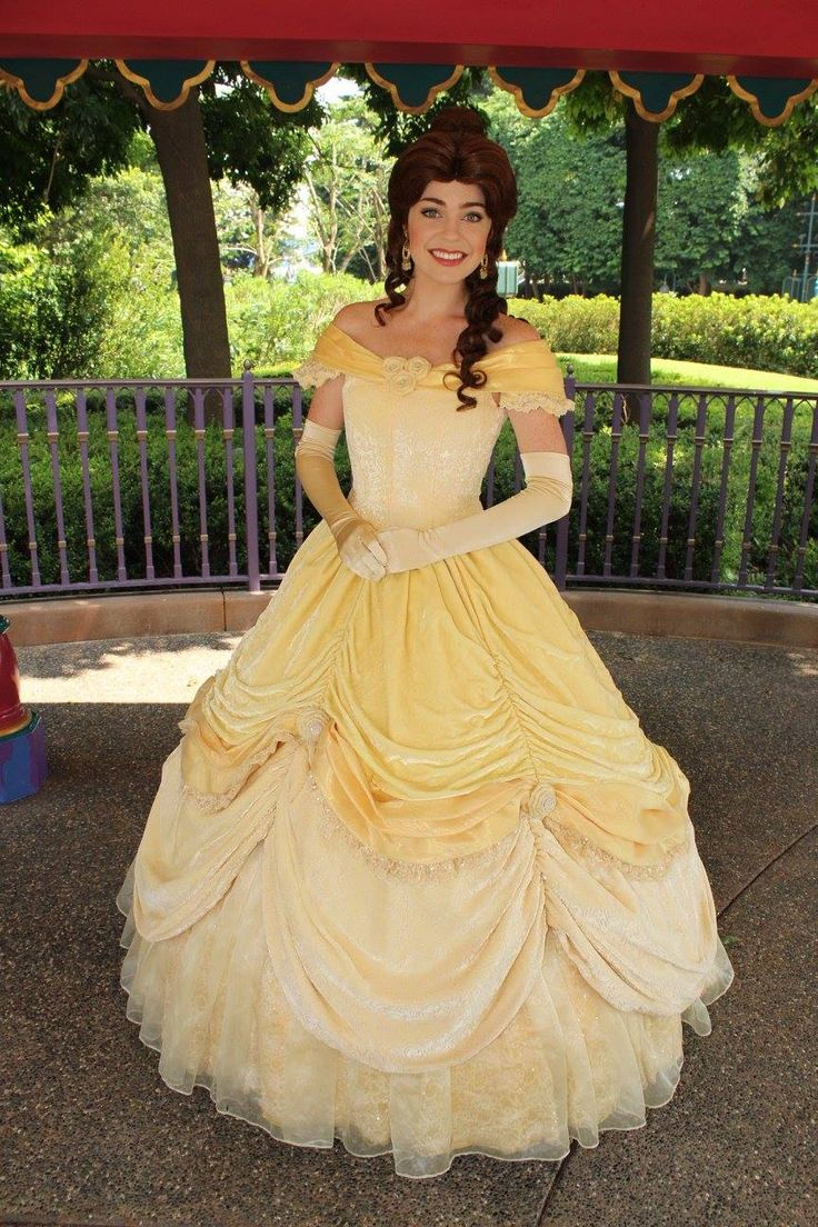 Belle face character