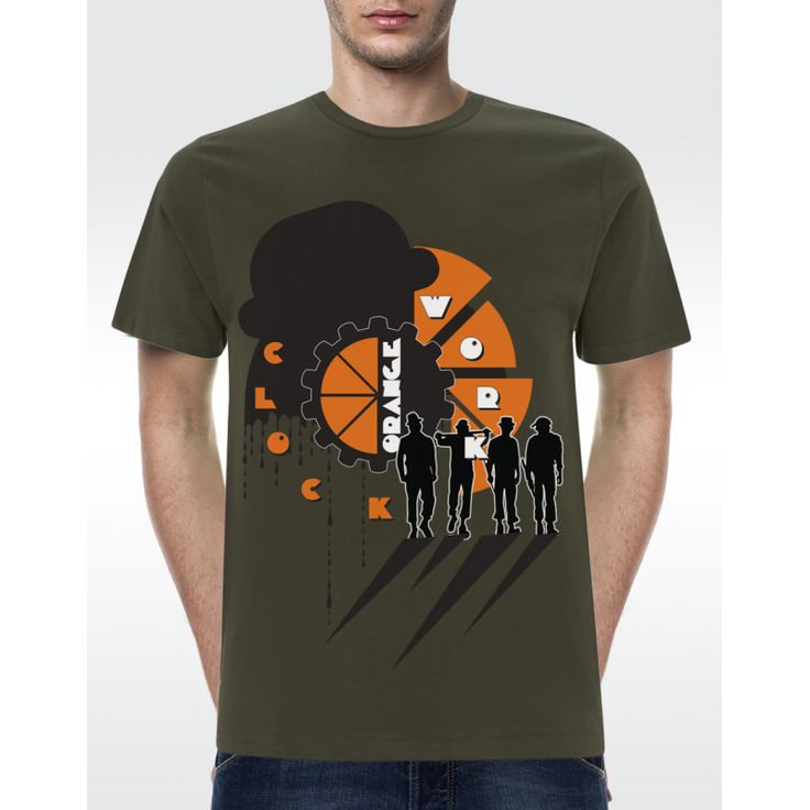 M01 CLOCKWORK T-shirt Men's Organic T-shirt - Climate Neutral® Available in 5 colours