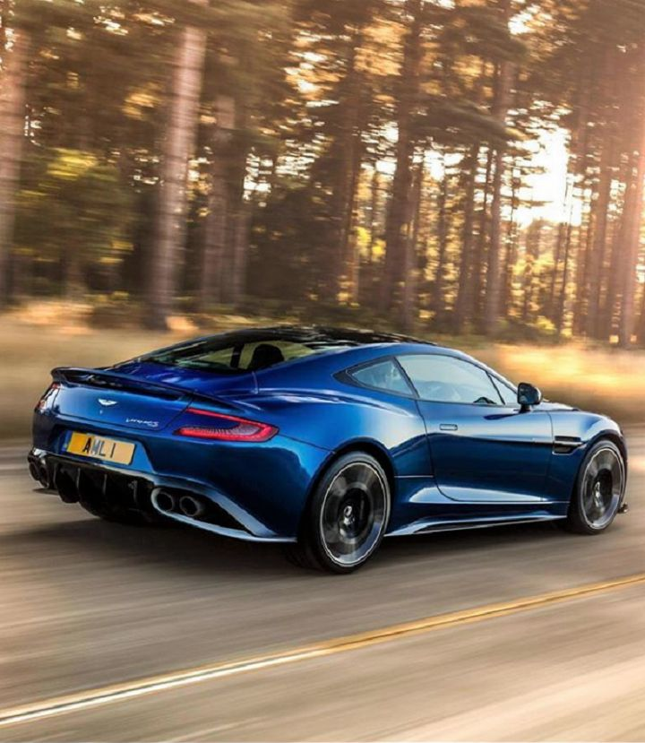 The Aston Martin Vanquish S Is One Seriously Souped-Up
