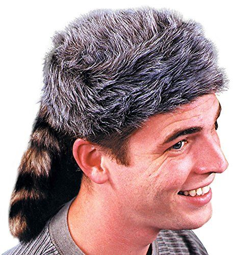 UHC Mens Disney Davy Crockett Coonskin Cap Adult Halloween Costume Accessory * Details can be found by clicking on the image.
