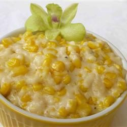 Creamed Corn - I reduce the milk so it can be thicker (how we like it) and sometimes add Mexicorn for a mild kick or jalapeno for a stronger kick.