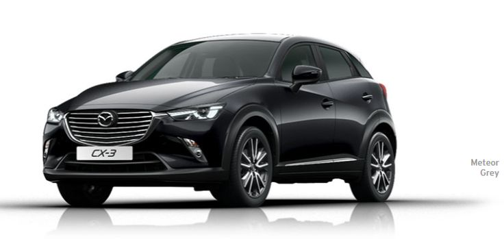 CX-3 in Meteor Grey