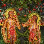 Adam And Eve by Alex Grey on Curiator - http://crtr.co/j6r