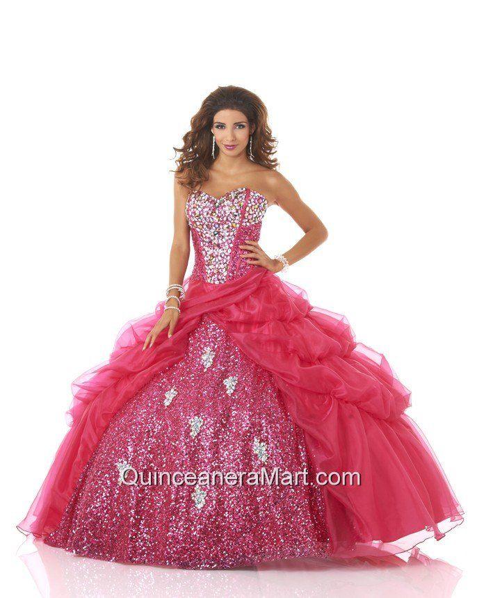 Mejores 52 imágenes de Quinceanera Dresses en Pinterest | Trajes de ...