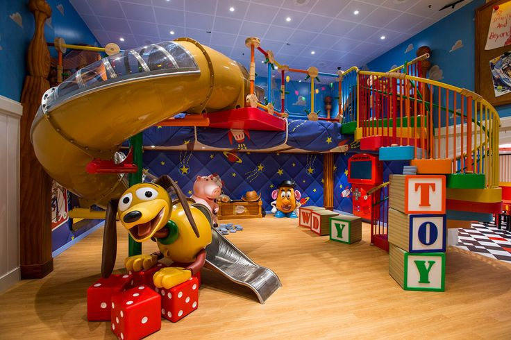 Sala de juegos Disney Magic
