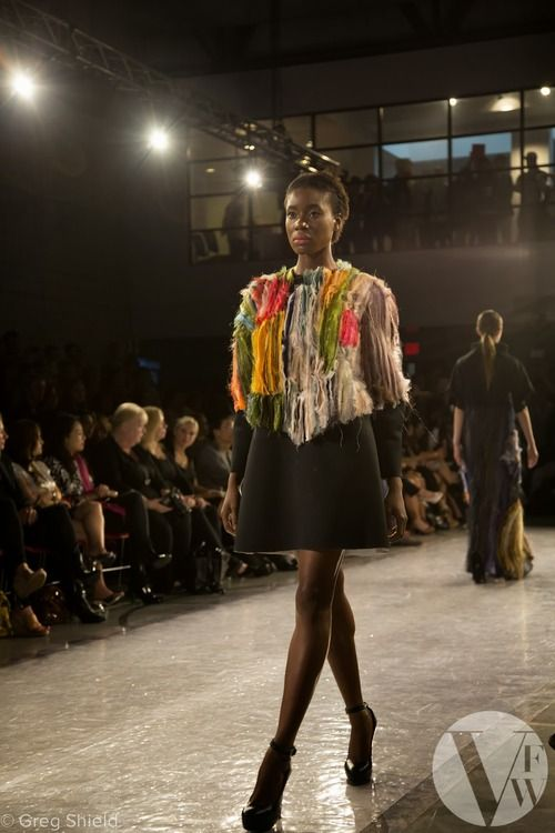 Lilla Csefalvay shows graduate collection 'Vanitas' at Vancouver Fashion Week