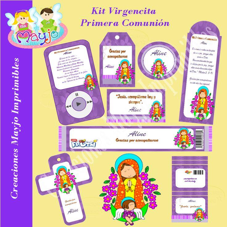 Manualidades mayjo: Kit Virgencita Primera Comunión