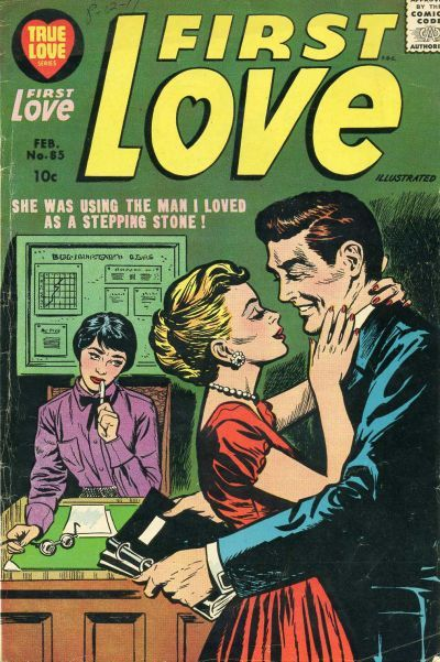First Love romance comic cover