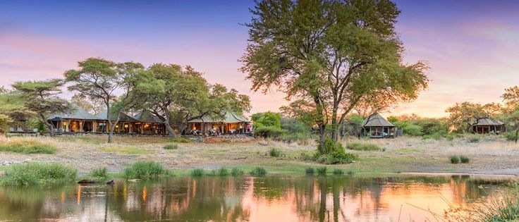 The wilderness you wish you were in right now: Onguma Safari Camps, situated on the eastern border of Etosha National Park.