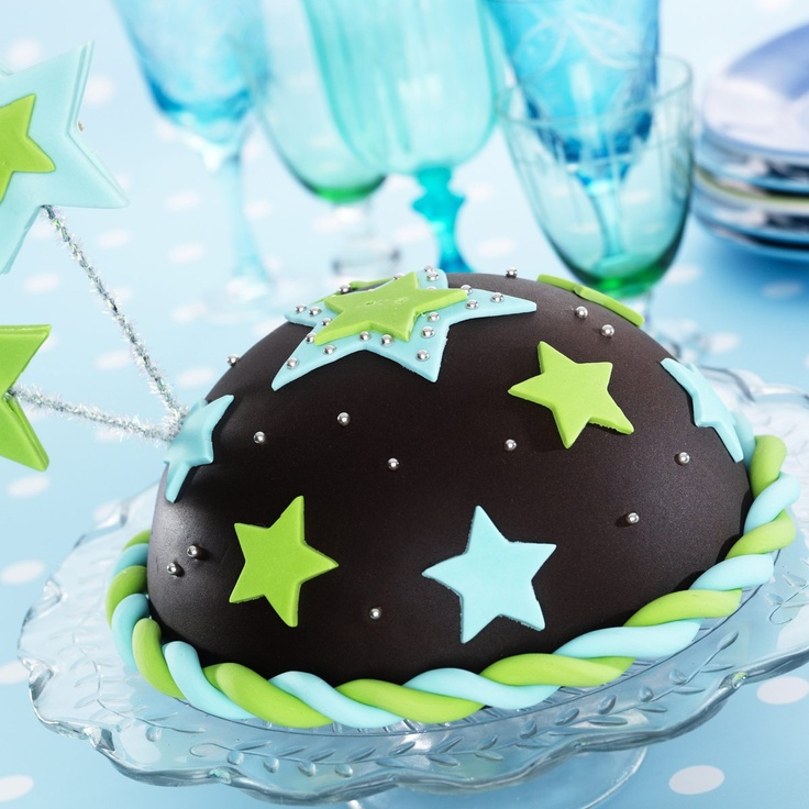 27 best space cake ideas images on pinterest birthdays for Cake decorations outer space