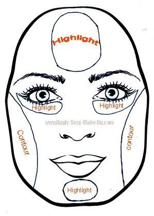 Pear shaped face #highlighting #contouring