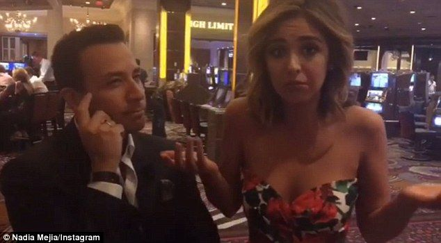 Miss California USA Nadia Mejia laughs off flubbed economic gap answer | Daily Mail Online
