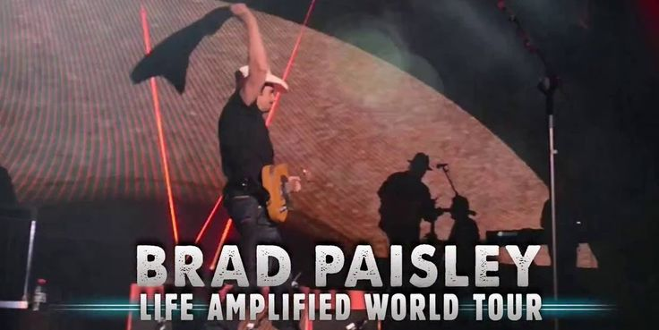 Get Your Tickets At BestSeatsFast.com For Brad Paisley - Better Seats, Better Prices! E-Tickets and Hard Tickets Available. PayPal Is Now Accepted!