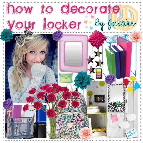 122 Best Locker Decor Images On Pinterest   Locker Stuff, Locker Ideas And  School Lockers