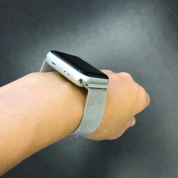 Apple Watch Series 5 4 3 2 Band Milanese Adjustable Mesh Loop