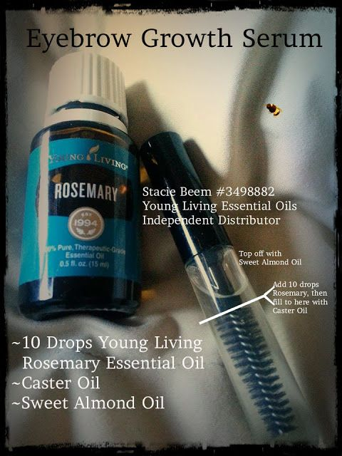 You Know I Love to Share: Eyebrow Serum DIY Natural Ingredients and Rosemary...