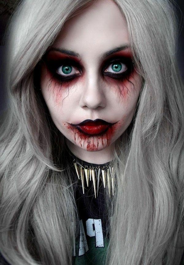 Coole Halloween Schmink Ideen! – Kaia Nainggolan