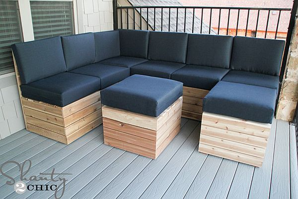 fy & Versatile DIY Modular Outdoor Seating