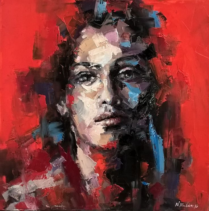 Oil on canvas 60x60cm
