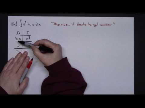 Trick for Integration By Parts (Tabular Method, Hindu Method, D-I Method)
