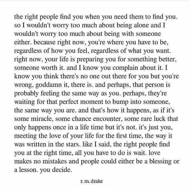 *Once in a lifetime & written in the stars*