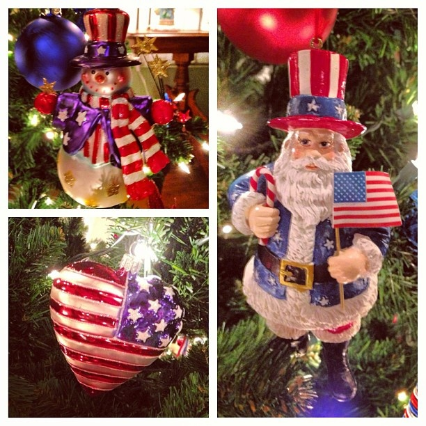 few USA christmas decorations | Oh Christmas Tree, Oh Christmas Tre ...