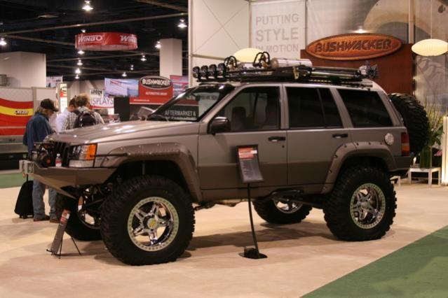 Sweet Sema Jeep ZJ Laredo, 5.2L V8