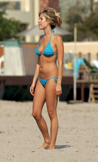 Kristin cavallari blue bikini