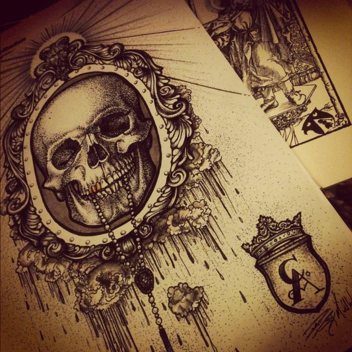 8 best images about Victorian frame tattoos on Pinterest ...