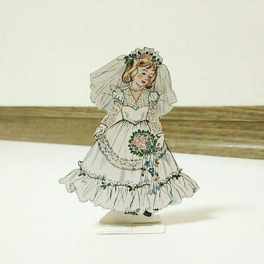 종이인형, paper dolls, paper dolls, Linda