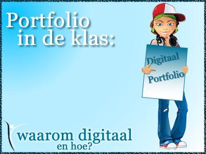 Een digitaal portfolio helpt de student om op internet eenvoudig zijn vaardigheden en de bewijzen ervan te presenteren. | Lees hier meer over in mijn blog! | #digitaal #portfolio #Mediawijsheid