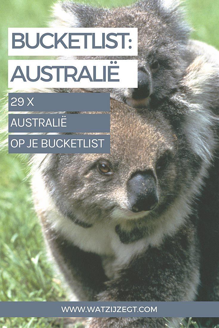 29 redenen om Australië op je bucket list te zetten