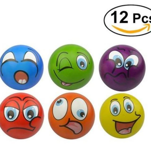 """12 Pcs 2.5inch Funny Face Squeeze Ball Novelty Hand Play Toy for Children Adult Stress Relief  Get 30% cash back from your first purchase as reviewer (use code : To-be-reviewer)  Shop at Search: """" Funny   #funny_ny_com  @funny_ny_com www.funny-ny.com  #Sleeve  #Apparel  #Sleeve #Hoodies #Jackets #Bottoms #Footwear #Shoe #Watches #Bracelet #Rings #Hats #Masks #Necklaces #Rings #Fun #Funny #Creative #Unique #Trendy  #Cash #Earn  #Make #Money #Affiliate #Promo #Promotion #Reviewer #Youtuber…"""