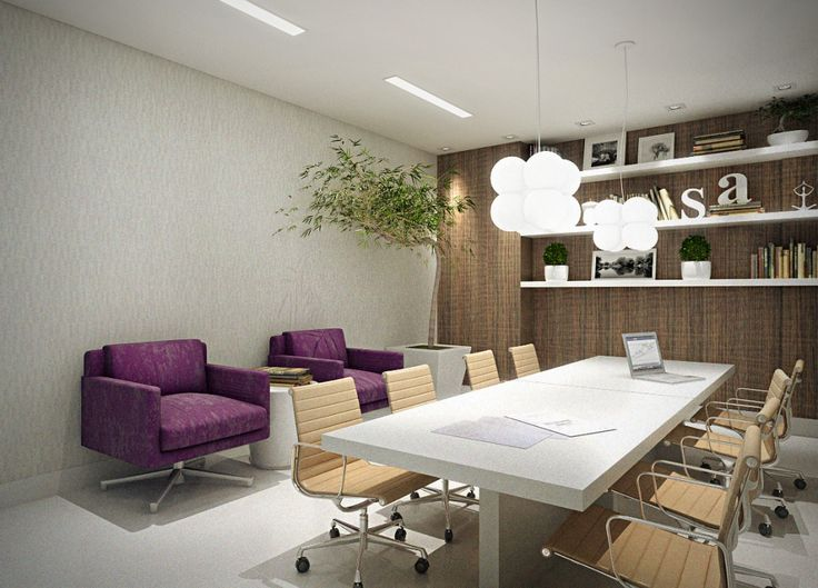 Um Espaço Reservado Para Você Trabalhar Em Casa, Fazer Reuniões E Receber  Fornecedores. Home · Home OfficesAt HomeInteriorArchitecture