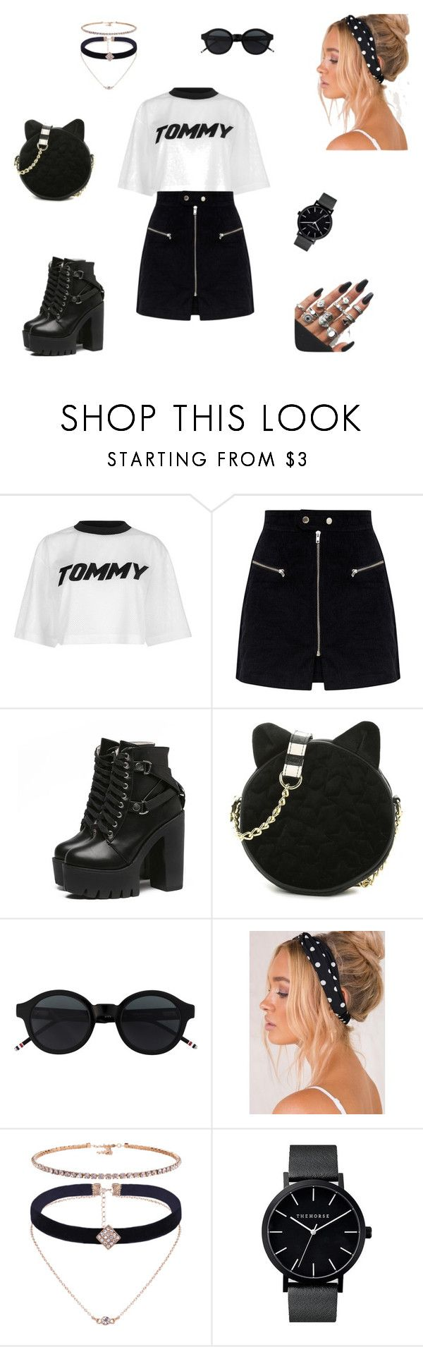 nr. 1 by patriivasca on Polyvore featuring Tommy Hilfiger and Betsey Johnson