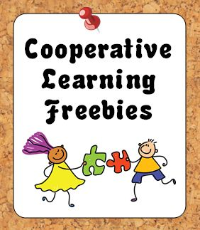 Click here for free Cooperative Learning Resources from Laura Candler's online file cabinet