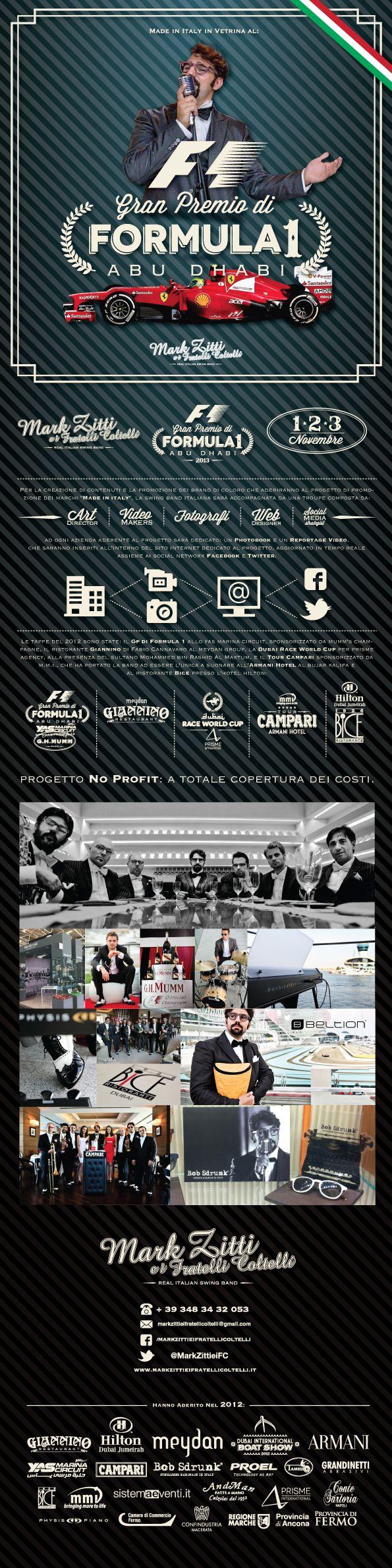 Mark Zitti e i Fratelli Coltelli 2014  UAE Progect