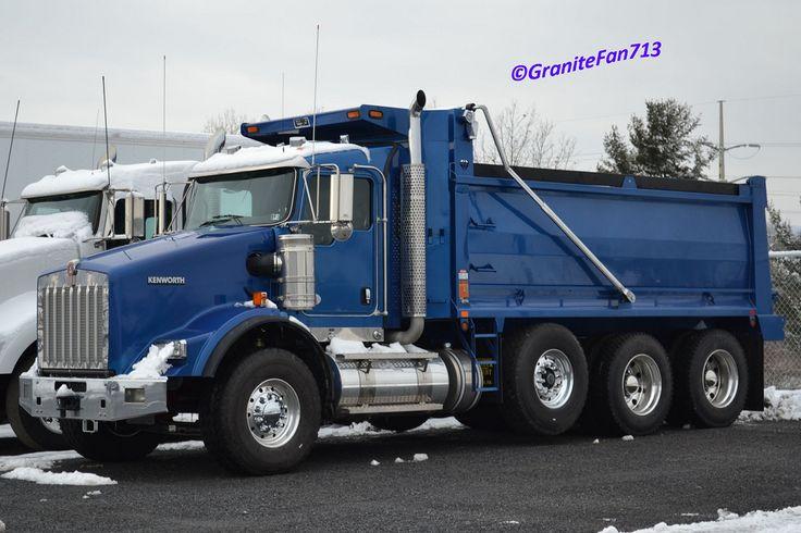 Tri Axle Cabover : Kenworth trucks t tri axle dump truck