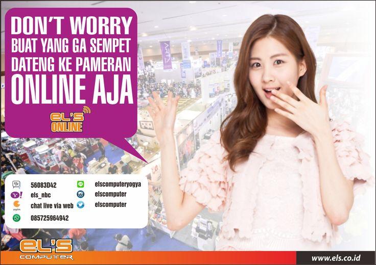 buat yang ketinggalan promo pameran di JEC bisa order online via http://www.els.co.id/  #els #computer #smartphone #gadget #promo