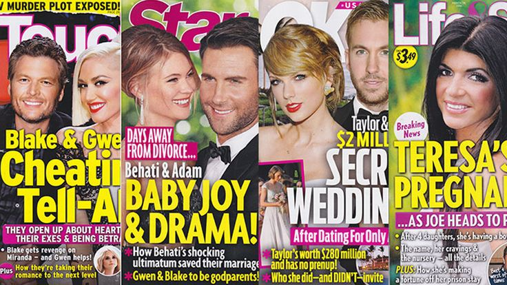 This Week In Tabloids: Taylor Swift & Calvin Harris Will Marry Soon, Whether We Like It Or Not