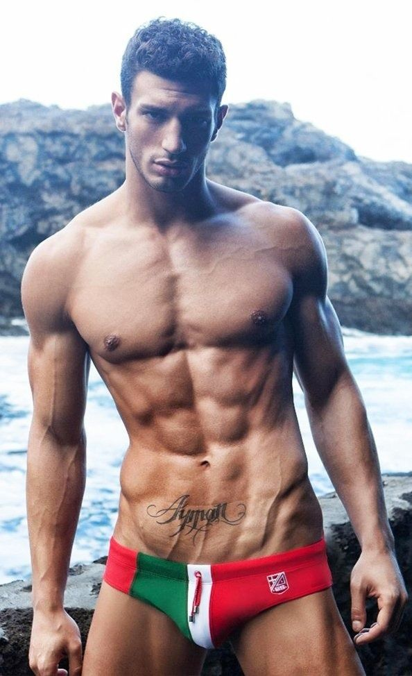 italy naked male models