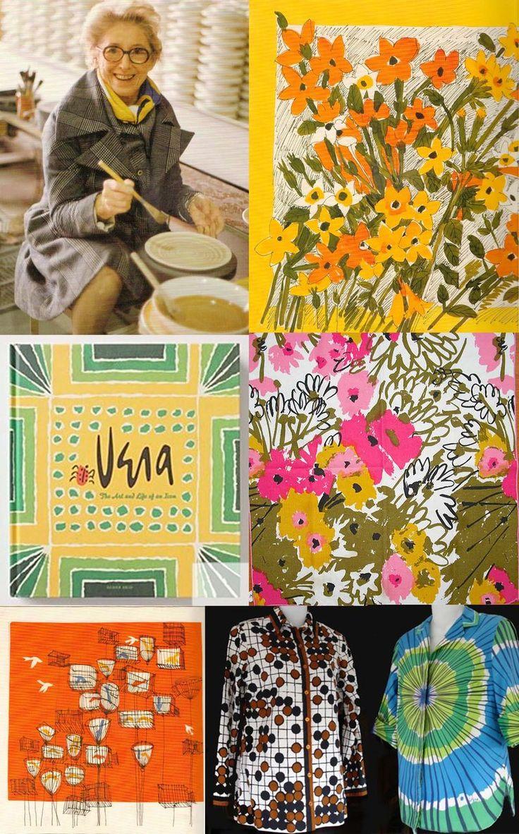 A montage of Vera Neumann's work